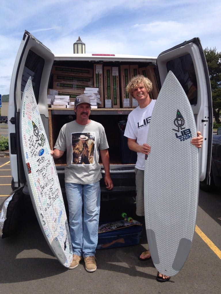 First Shipment of Lib Tech Surfboards has arrived