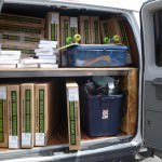 The Lib Tech Van packed with Lib Tech Surfboards