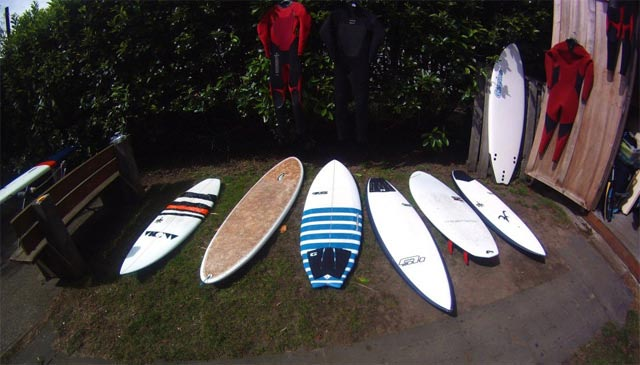 Used Surfboards coming in daily at Cleanline Surf Shop