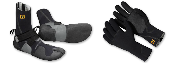 Patagonia Wetsuit Booties and Gloves