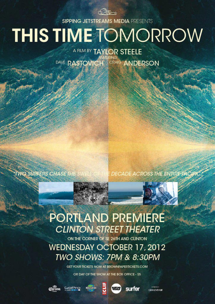 This Time Tomorrow Portland Surf Video Premier