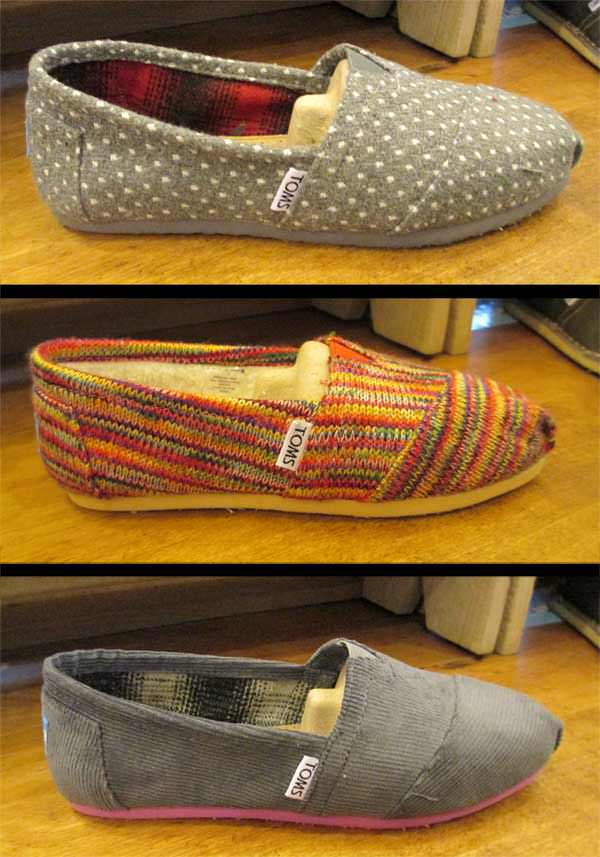 New TOMS Colors in now!