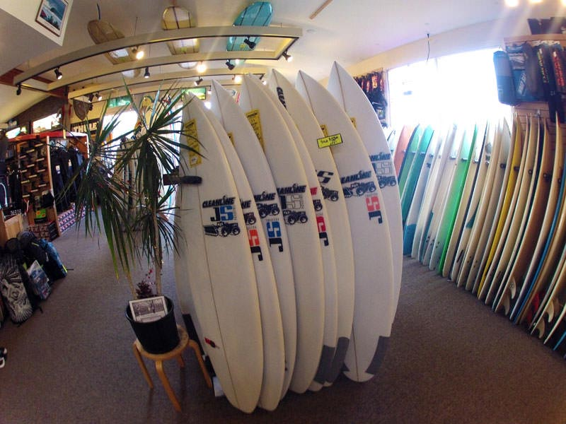 JS Surfboards at Cleanline Surf
