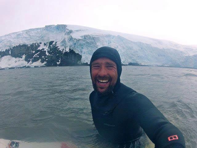 Kepa Acero in Antarctica
