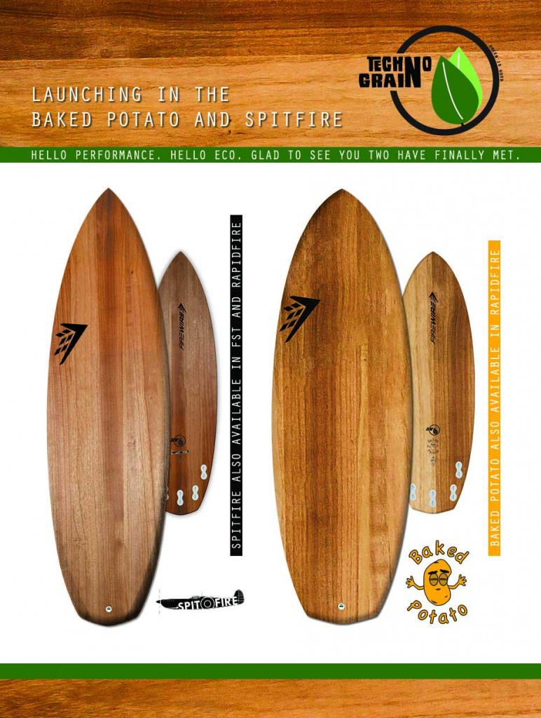 Firewire Technograin Surfboards