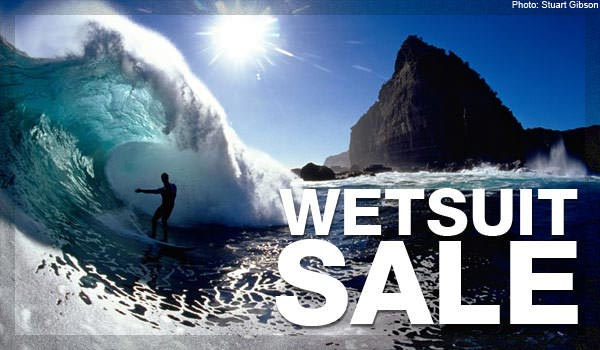 Sale Wetsuits 2013