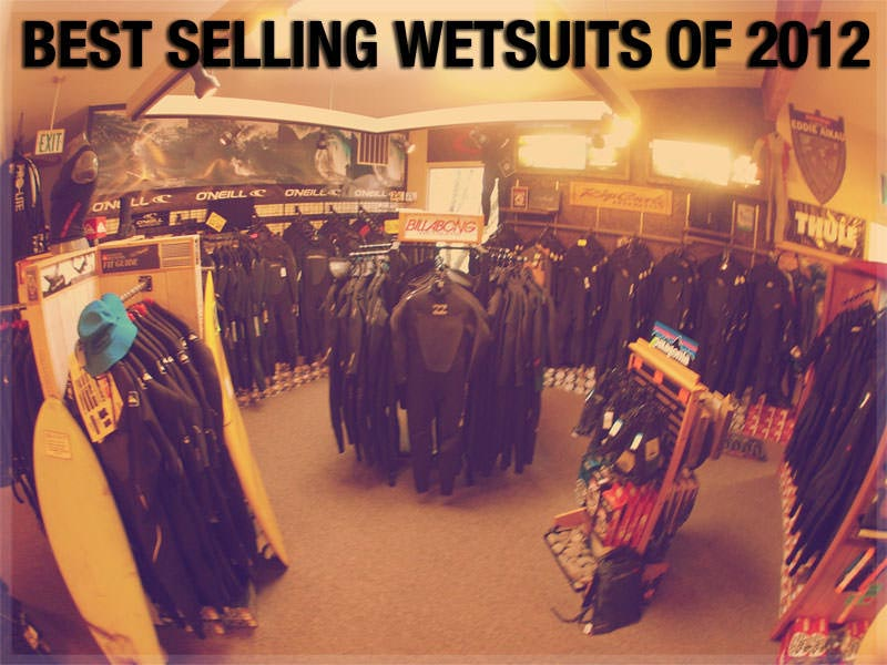 Best Selling Wetsuits of 2012