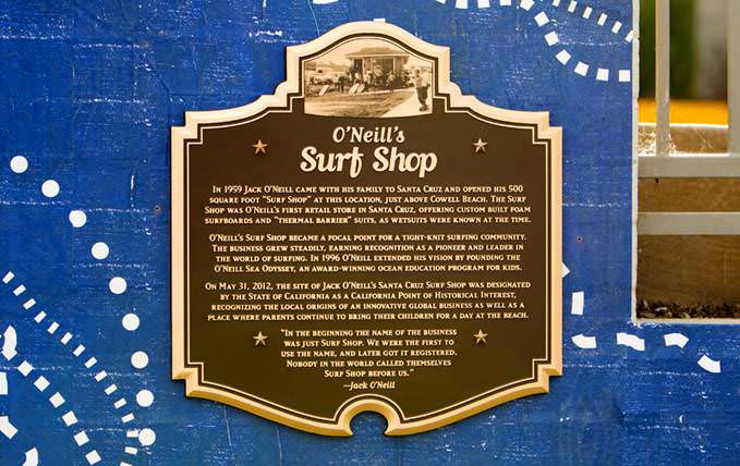 First Surf Shop - Historical Point of Interest
