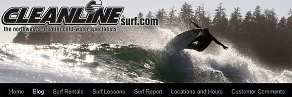 Cleanline Surf Blog