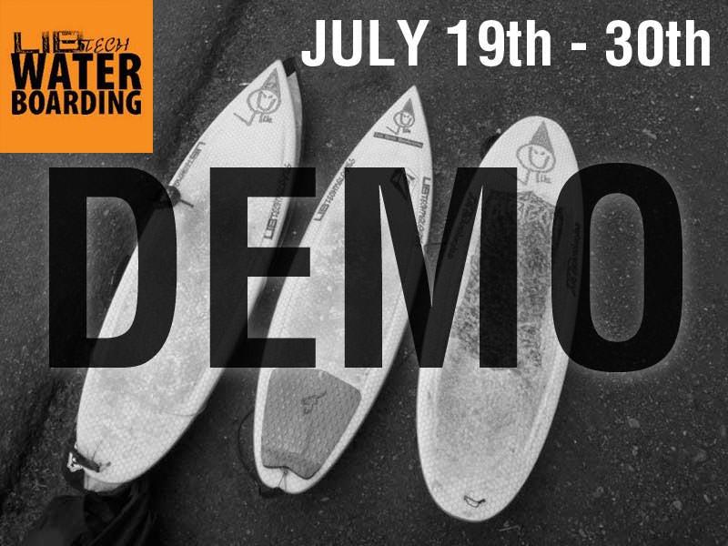 Lib Tech Surfboard Demo