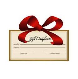 Surfer Gift Certificate