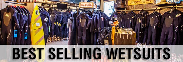 Best Selling Wetsuits 2013